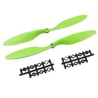 1045 Yeşil Plastik CW/CCW Pervane Seti