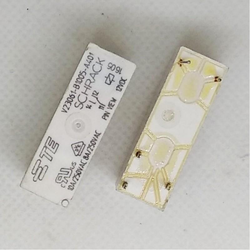 V23061-B1005-A401 12V 10A 1C SCHRACK 5 PIN SCHRACK GÜÇ RÖLE