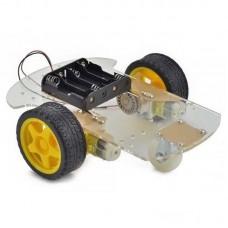 4Wd Çok Amaçlı Mobil Robot Platformu - Şeffaf