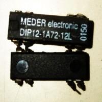 DIP12-1A72-12L 12V 1A BULK DIK MEDER Reed RÖLE