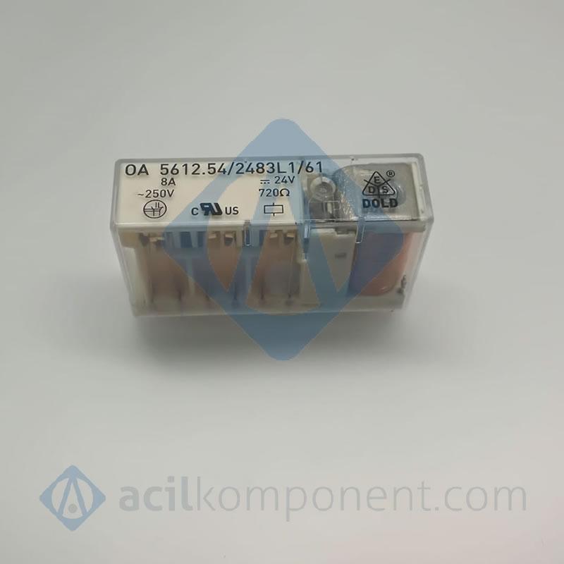 OA5612.54 / 2483L1 / 61 24 Volt 4 Açık+2Kapalı Kon